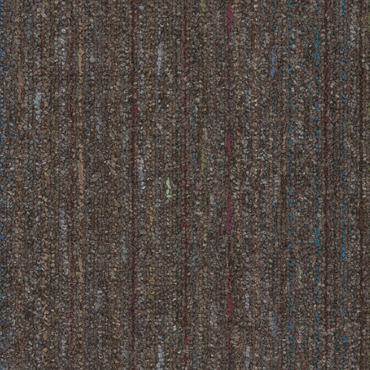 A close-up (swatch) photo of the Brown flooring product